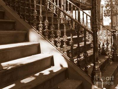 Photograph - Savannah Sepia - Stairs by Carol Groenen