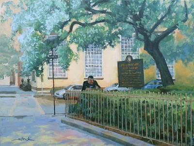 Savannah Shade Art Print by Carol Strickland