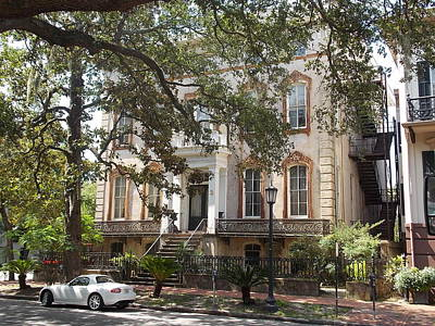 Photograph - Savannah Southern Style by Matthew Seufer