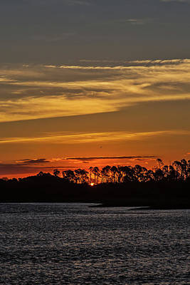 Photograph - Savannah Sunrise by John Haldane