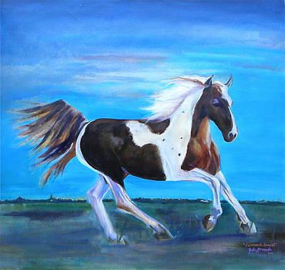 Painting - Savannah Sunset by Julie Komenda