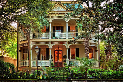 Savannah Victorian Art Print by Diana Powell