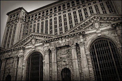 Unsafe Digital Art - Save The Depot - Michigan Central Station Corktown - Detroit Michigan by Gordon Dean II