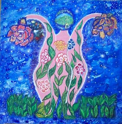 Save The Earth Painting - Save The Earth by Parveen Shrivastava