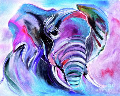 Save The Elephants Art Print