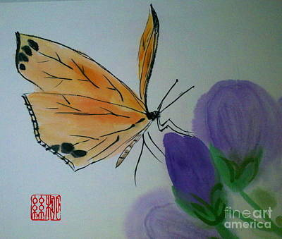 Save The Monarchs Art Print