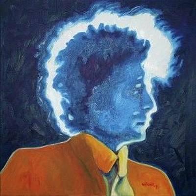 Bob Dylan Painting - Saved by Natasha Laurence