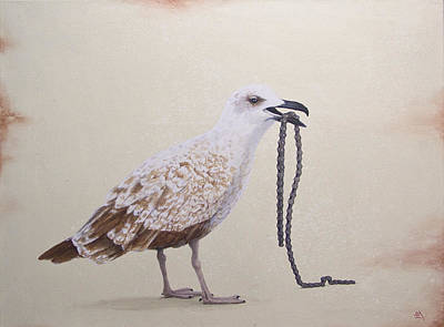 Daniel Wall Painting - Savengers 01 by Daniel Wall