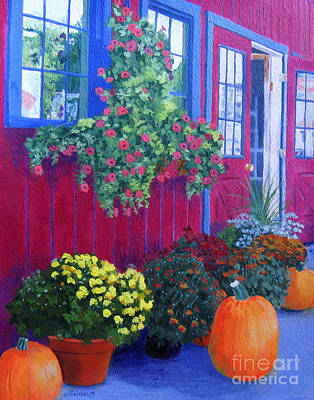 Upstate Painting - Savickis Market by Lynne Reichhart