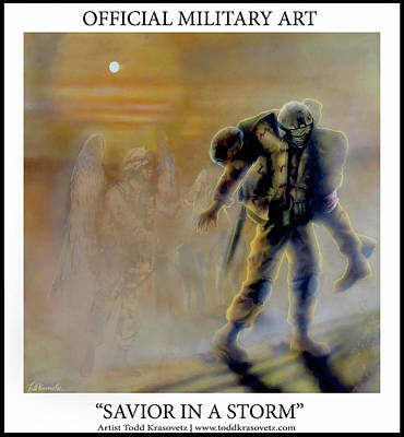 Photograph - Savior In A Storm by Todd Krasovetz