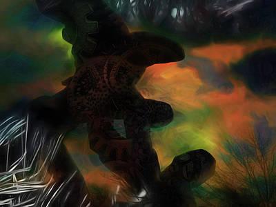 Digital Art - Savior One by Richard Ricci