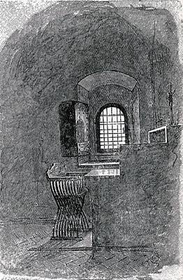 Dominican Drawing - Savonarola S Empty Cell At St. Mark S by Vintage Design Pics