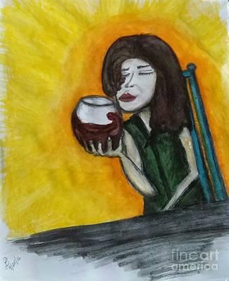 Savor Art Print by Lisa Paulauskas