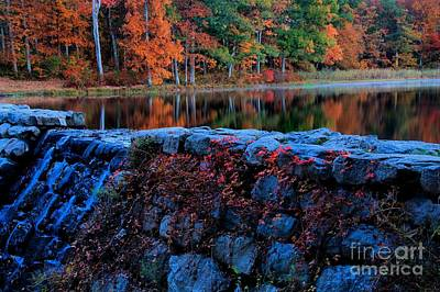 Photograph - Sawmill Lake In Autumn by Matthew Winn