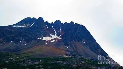 Photograph - Sawtooth Alaska by Laurianna Taylor