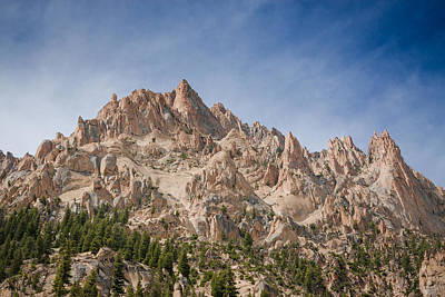 Photograph - Sawtooth Mountains by Dave Hall