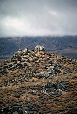 Photograph - Sawtooth Mountains by John Schneider
