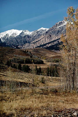 Photograph - Sawtooth Range by John Schneider