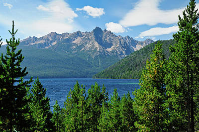 Photograph - Sawtooth Serenity by Greg Norrell