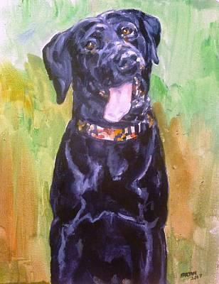 Painting - Sawyer by Bryan Bustard