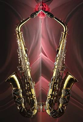 Photograph - Sax Appeal by Dario Infini