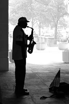 Photograph - Sax Man by Francesa Miller