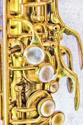 Photograph - Sax by Pamela Williams