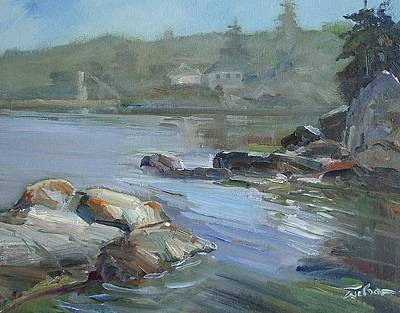 Painting - Saxe Point by Ron Wilson