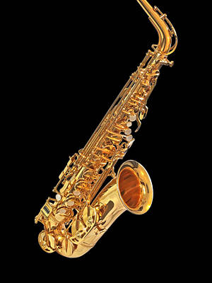 Photograph - Saxophone by Gill Billington