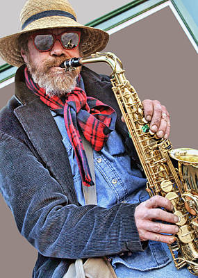 Photograph - Saxophone - Music by Nikolyn McDonald