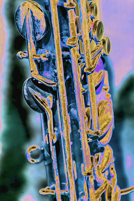 Photograph - Saxophone by Pamela Williams