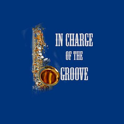 Saxophone Photograph - Saxophones In Charge Of The Groove 5531.02 by M K  Miller