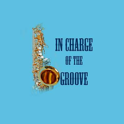 Saxophone Photograph - Saxophones In Charge Of The Groove 5532.02 by M K  Miller