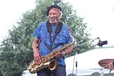 Photograph - Saxophonist Charles Neville by Concert Photos