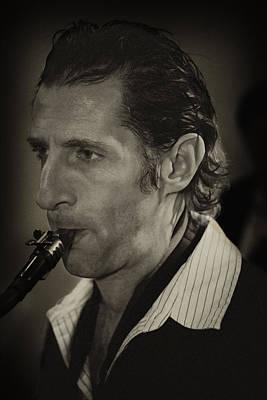 Saxophonist Photograph - Saxophonist by Robert Ullmann