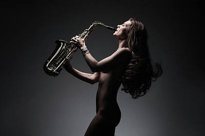 Photograph - Saxsational by Dario Infini