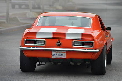 Photograph - Say Bye S S Camaro by Bill Dutting