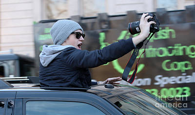 Niall Photograph - Say Cheese Niall Horan by Brian Flannery