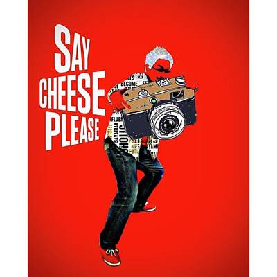 Pop Art Wall Art - Photograph - Say Cheese Please❗ #アート by Takashi Nishimura