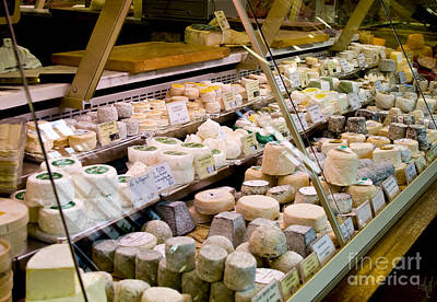 Fromage Photograph - Say Cheese by Victoria Harrington