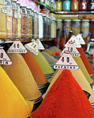 Moroccan Photograph - Say It With Spices by Studio Yuki