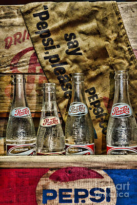 Wood Crate Photograph - Say Pepsi Please by Paul Ward