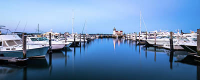 Saybrook Point Marina Art Print