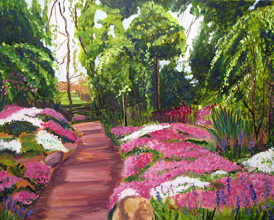 Painting - Sayen Path by Clara Sue Beym