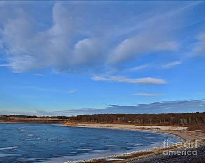 Photograph - Saylorville Beach by Kathy M Krause