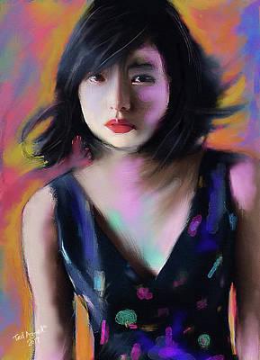 Digital Art - Sayonara by Ted Azriel