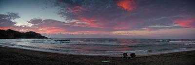 Sayulita Sunset Art Print by Chuck Parsons