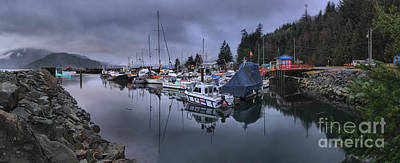 Photograph - Sayward British Columbia Panorama by Adam Jewell