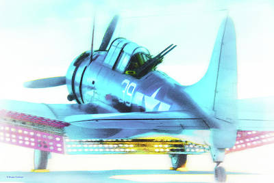 Digital Art - Sbd Dauntless by Douglas Castleman