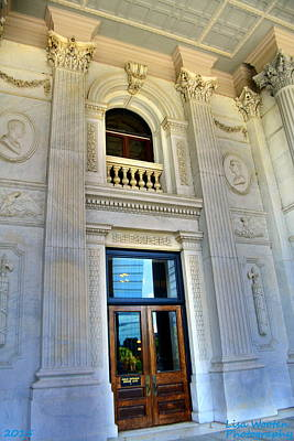 Photograph - Sc State House Grand Entrance by Lisa Wooten